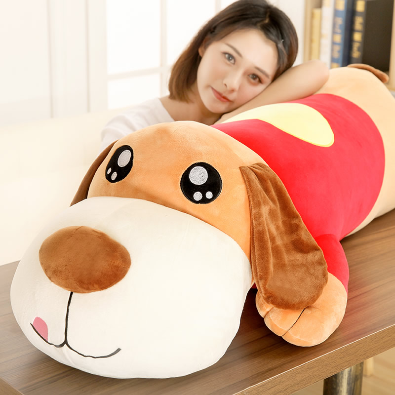 New Staffed Soft Plush Toy Giant Plush Toy Big Dog Giant Stuffed Puppy Dog Soft Extremely Plush Animal Toy Pillow doll juguetes
