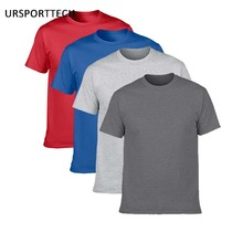Buy Two Get Two Cotton Men's T-shirts Classical 2017 Short Sleeve O-neck tshirt