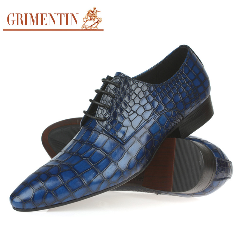 Popular Blue Dress Shoes for Men-Buy Cheap Blue Dress Shoes for ...