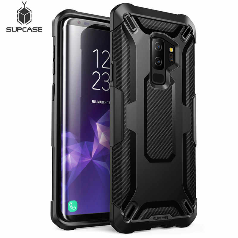 SUPCASE For Galaxy S9 Plus Unicorn Beetle Series TPU + Tough Polycarbonate Premium Hybrid Protective Case Back Cover