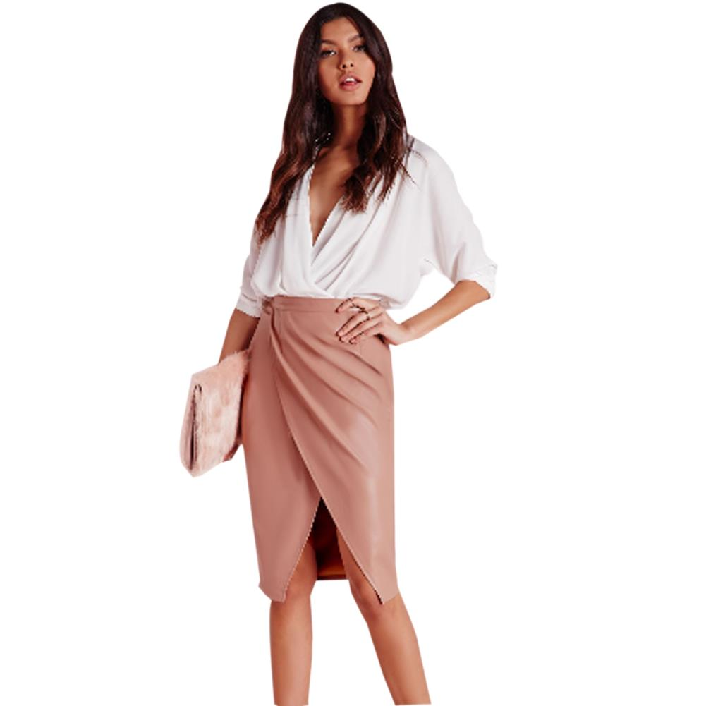 Pink Leather Skirts Promotion-Shop for Promotional Pink Leather ...