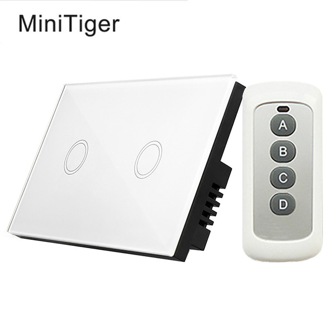 Minitiger 2 Gang 1way Anti Corrosion Touch Switch Us 110
