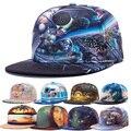 Alisister новое прибытие 2017 мода snapback бейсболки женщины мужчины hat абстрактные цветы galaxy cap Повседневная gorras хип-хоп cap