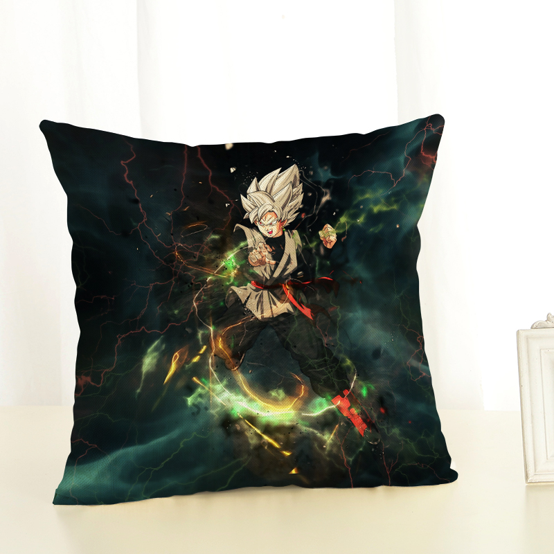 RECOLOUR Cartoon Dragon Ball 3D  Printed Pillow covers Sofa Cushion Cover Home decor 45X45cm throw pillow linen cotton cojines