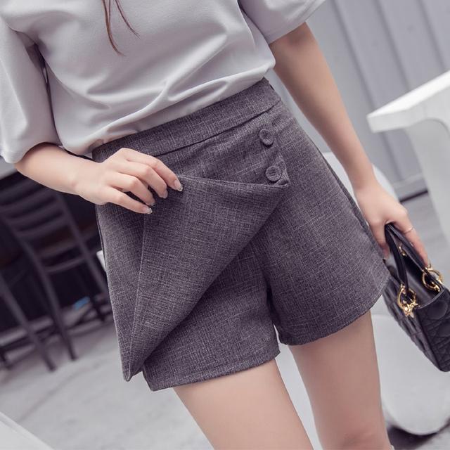 Pantalones cortos en verano otoño de las mujeres Pantalones Cortos de moda Faldas para las mujeres Shipping JX-714