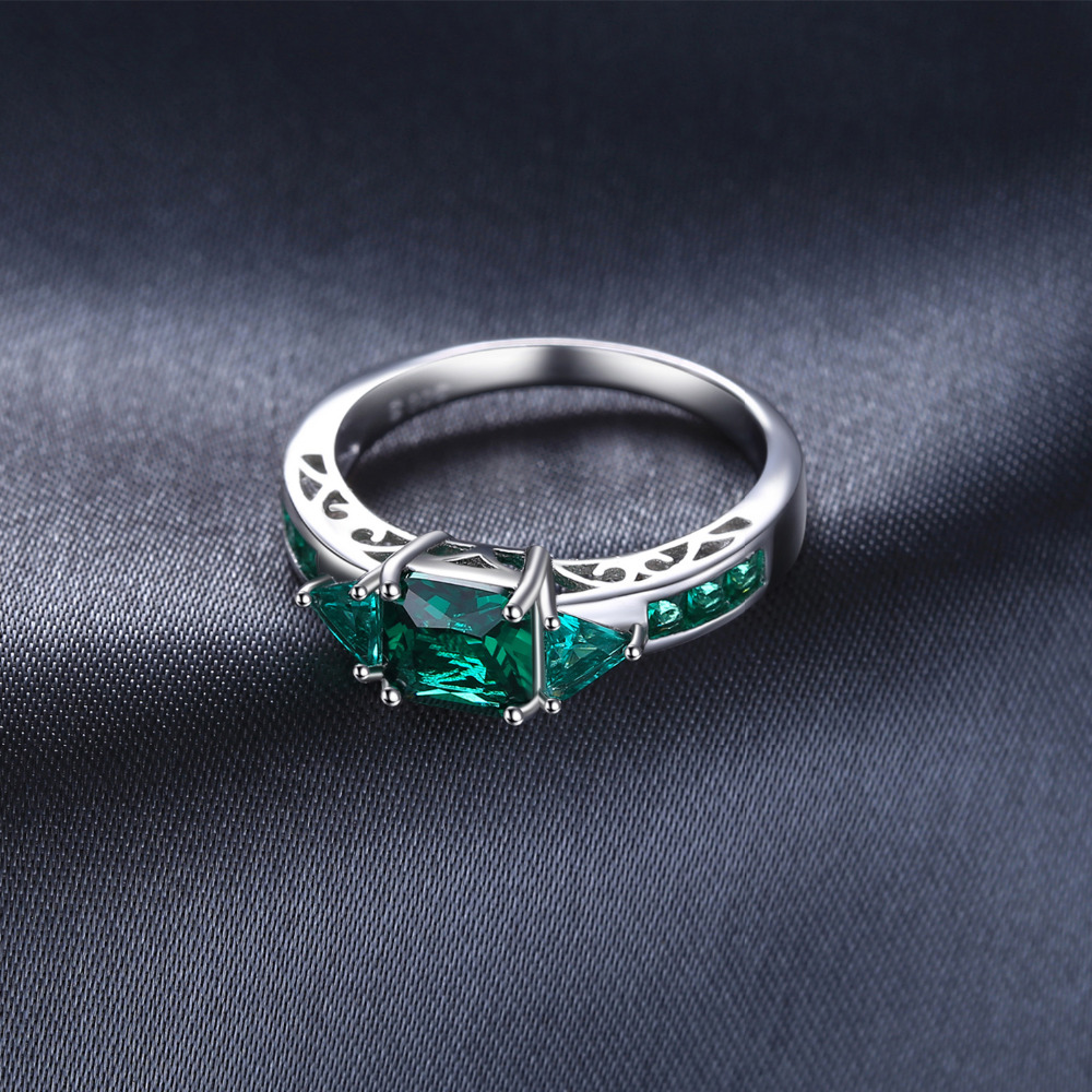 JewelryPalace Caved 1.3ct Nano Russian Simulated Emerald Statement - Նուրբ զարդեր - Լուսանկար 4