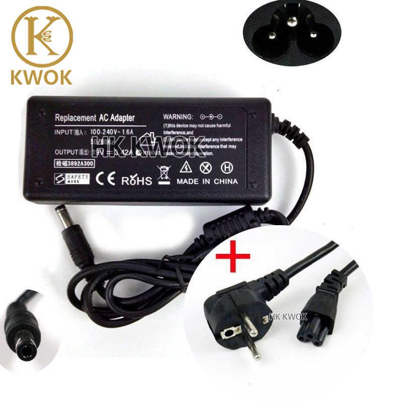 Cordon d'alimentation ue + 19V 3.42A 5.5X2.5mm N101 ordinateur portable pour Asus/Lenovo/Toshiba/BenQ adaptateur secteur chargeur d'alimentation livraison gratuite