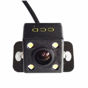 Brand new HD Universal car Rear view parking Camera for Reverse 4LED Night vision(China)