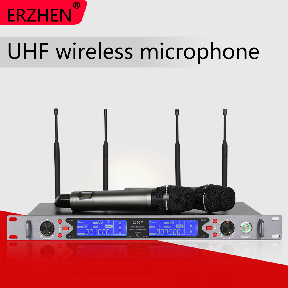 R-U910 true diversity dual channel high quality wireless microphone, high quality, hot mic, IR, 2 microphonesR-U910 true diversity dual channel high quality wireless microphone, high quality, hot mic, IR, 2 microphones
