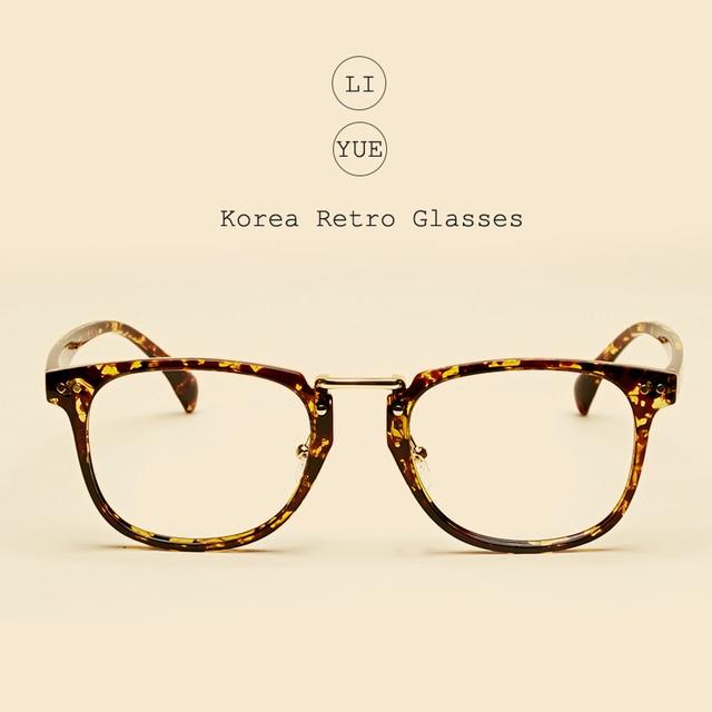 f65a87dbc5 LIYUE Vintage optical glasses Round eyewear Frame women optical Spectacles  frame Computer glasses prescription eyeglasses men