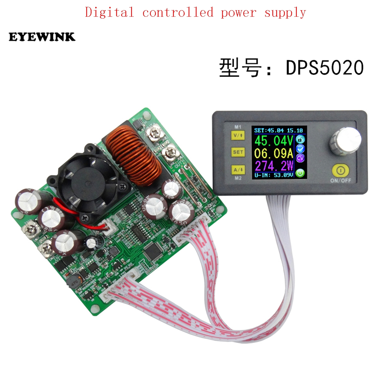 Image 2 - DPS5020 Constant Voltage Current Step down Communication Digital Power Supply Buck Voltage Converter LCD Voltmeter 50V 20A-in Integrated Circuits from Electronic Components & Supplies