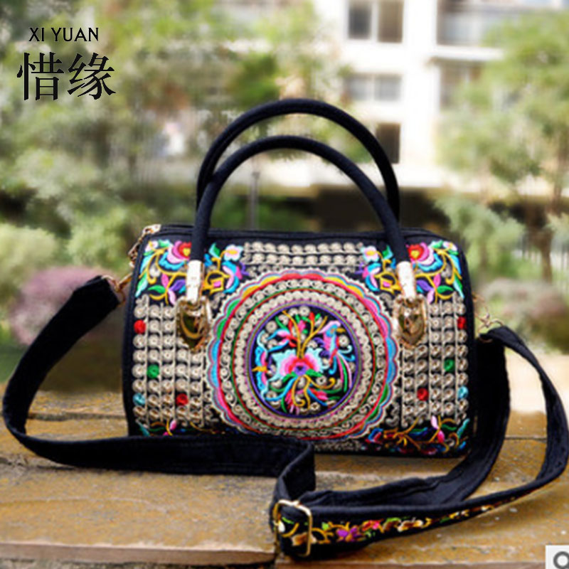 XIYUAN BRAND Stylish and vintage women's embroidered shoulder bags handmade,woman handbags red colorful настольная лампа paulmann berit 79646