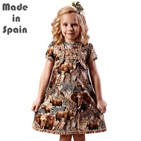 I Lollipop Luxury Flower Girl Dresses Clothes Zoo Party