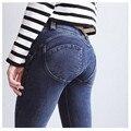 Freddy novas Mulheres Leggings Sexy Skinny Empurrar Para Cima do Quadril calças Jeans Femininas Denim Calças Elásticas Calças de Cintura Baixa Das Mulheres Apertadas Calças De Fitness