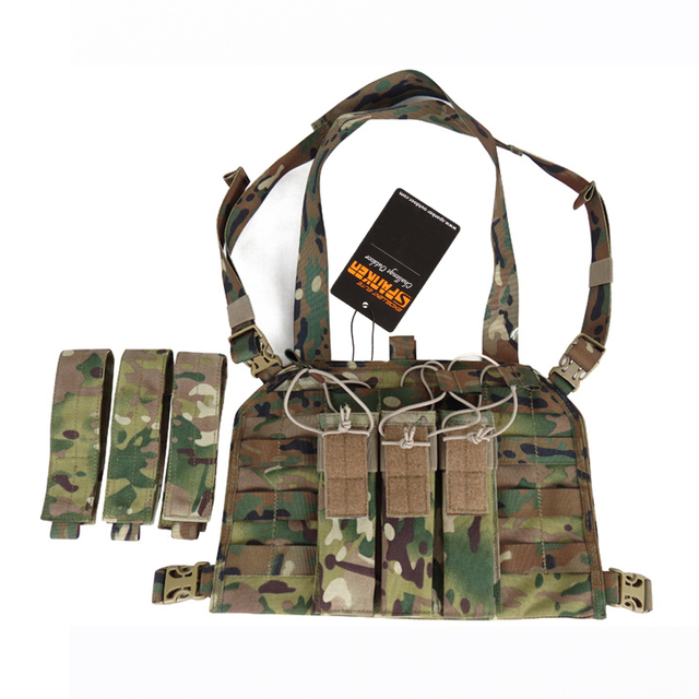 EXCELLENT ELITE SPANKER Triple Ammo Clips Bags Outdoor Military Equipment Tactical Magazine Pouches Hunting 1