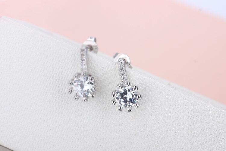 Modna vruća prodaja na veliko novi dizajn super sjajne cirkonske 925 - Modni nakit - Foto 3