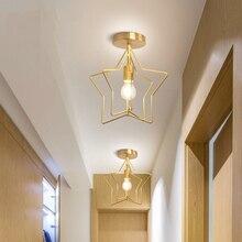 Современный потолочный светильник MDWELL для гостиной, спальни, скандинавского кованого железа, ретро коридорный светильник для гостиной, потолочный светильник