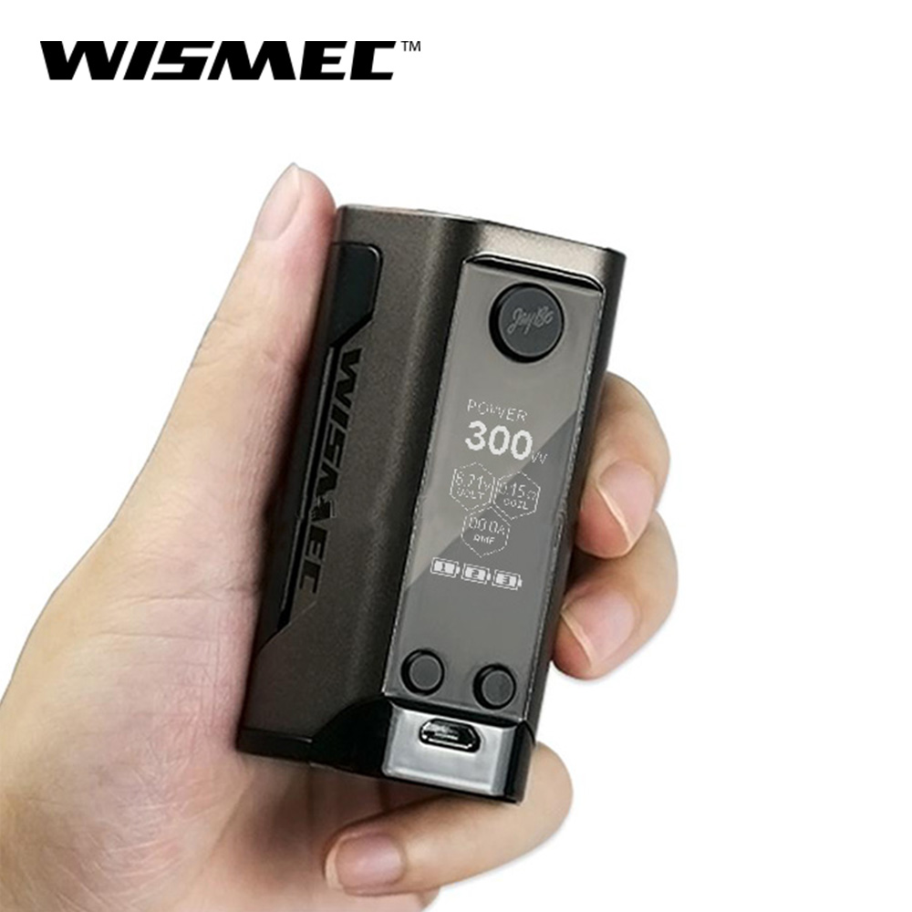 Original Wismec Reuleaux RX GEN3 Box Mod 300W Vape with 1 3inch Screen Powered By 18650