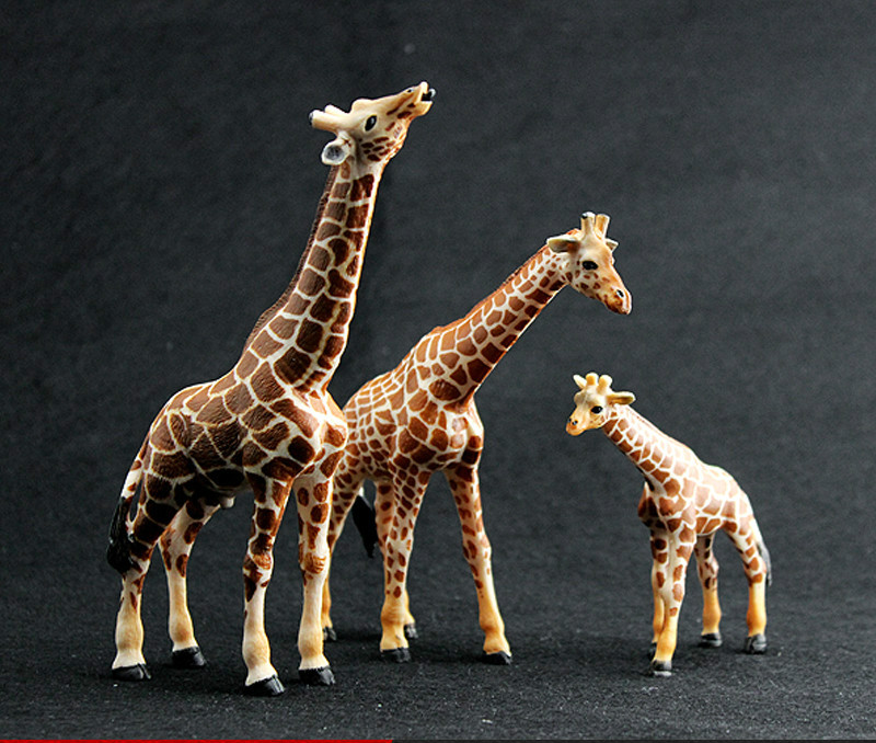 Toys & Hobbies Big Size Giraffe Toy Collection Plastic Toy Giraffe Model Action Character Child Boy Child Gift Educational Toy