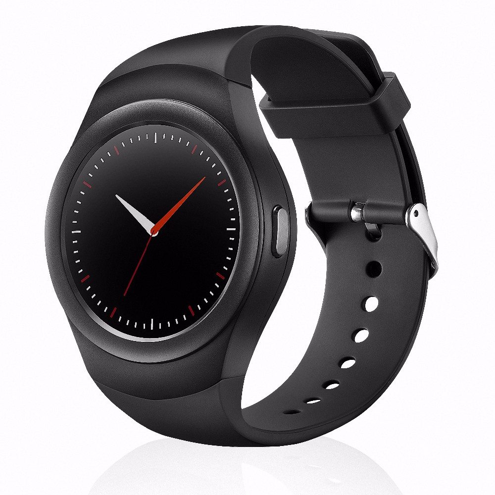 K8 Smartwatch MTK2502C Bluetooth 4.0 prend en charge la carte Sim TF carte moniteur de fréquence cardiaque Tracker de santé montre intelligente pour iPhone Android