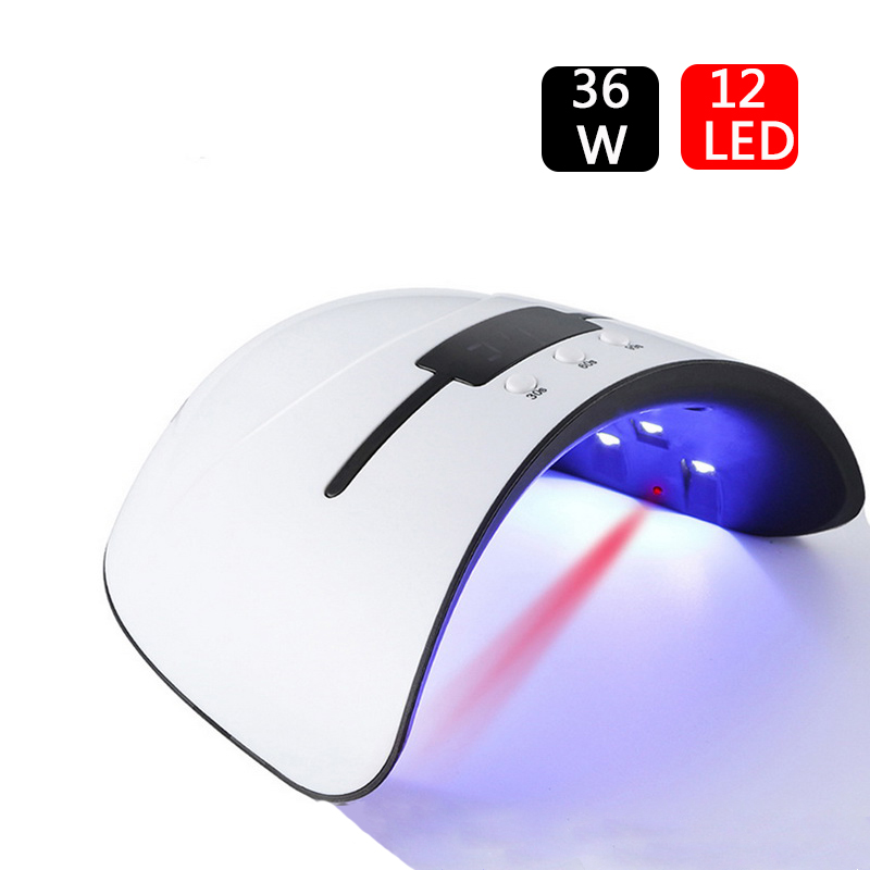 Nail-Dryer 90s-Timer Uv-Lamp 30s Portable Hardening 36w For All-Types-Gel 12/led USB