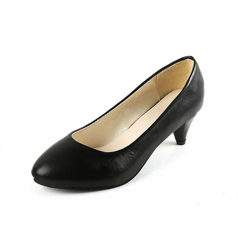Popular Kitten Heel Dress Shoes Black-Buy Cheap Kitten Heel Dress ...