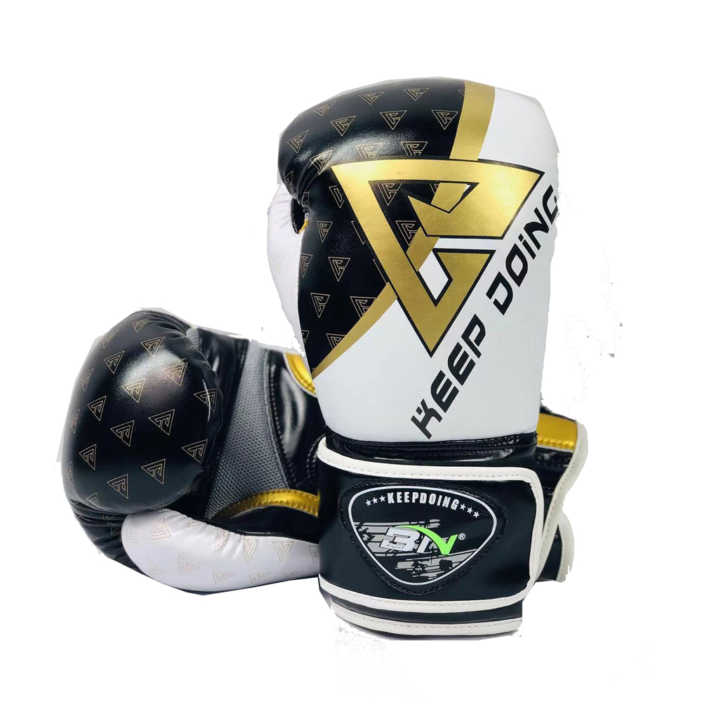 BN 2019 Nova 8/10/12OZ Crianças Audlts Kickboxing Muay Thai MMA Luvas de Boxe Luvas Sparring Mitts Marcial wushu artes Engrenagem Equipamento DEO