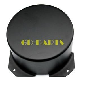 Image 2 - GD PARTS 90 ミリメートルラウンド黒鉄三極トランスカバーケースボックスヴィンテージチューブアンプハイファイオーディオdiy