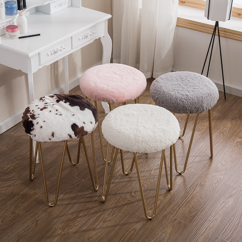 Free shipping U-BEST Popular Lucite Dressing Room Stool Living Room Stool,washable cover shoes changing stool modern garden toy stools living room changing shoes chairs furniture plastic stool free shipping