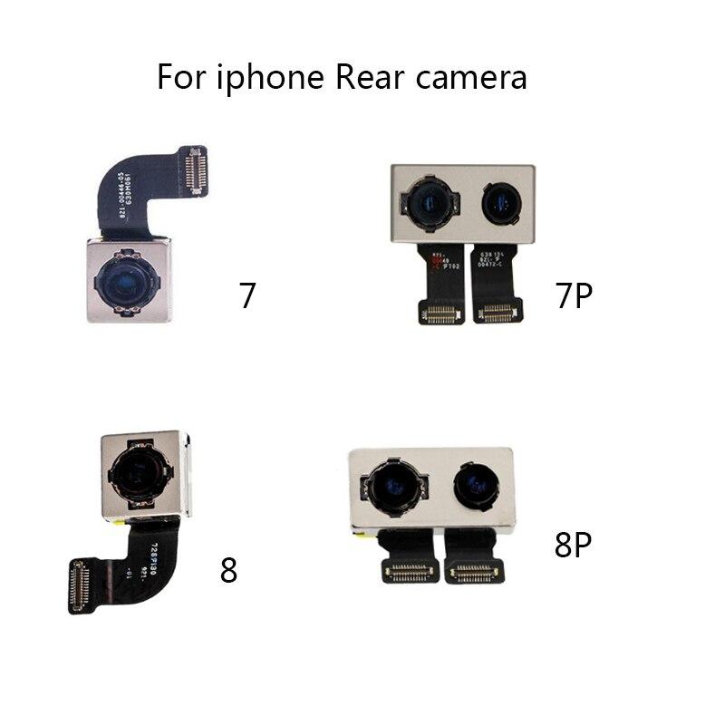 100% тесты Рабочая задняя камера со вспышкой модуль сенсор Flex ленточный кабель для iPhone 7 PLUS 8 PLUS запчасти авто
