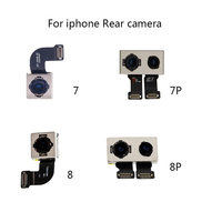 100% Test Working Back Rear Camera With Flash Module Sensor Flex Ribbon Cable For iPhone 7 7PLUS 8 8 PLUS Replacement Parts