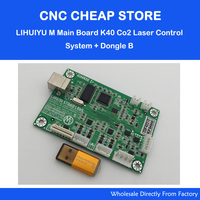 LIHUIYU Nano Main Board M2 for Co2 Laser Stamp Engraving Cutting K40 Control System Coreldraw output + Dongle B