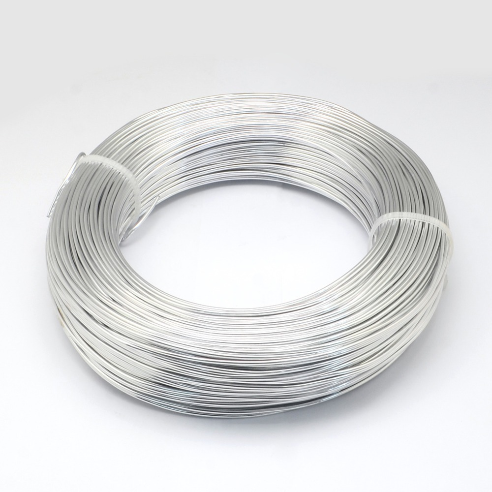 2mm Soft Round Aluminum Wire for Jewelry Making Versatile Painted Aluminium Metal Wire, about 55m/500g2mm Soft Round Aluminum Wire for Jewelry Making Versatile Painted Aluminium Metal Wire, about 55m/500g