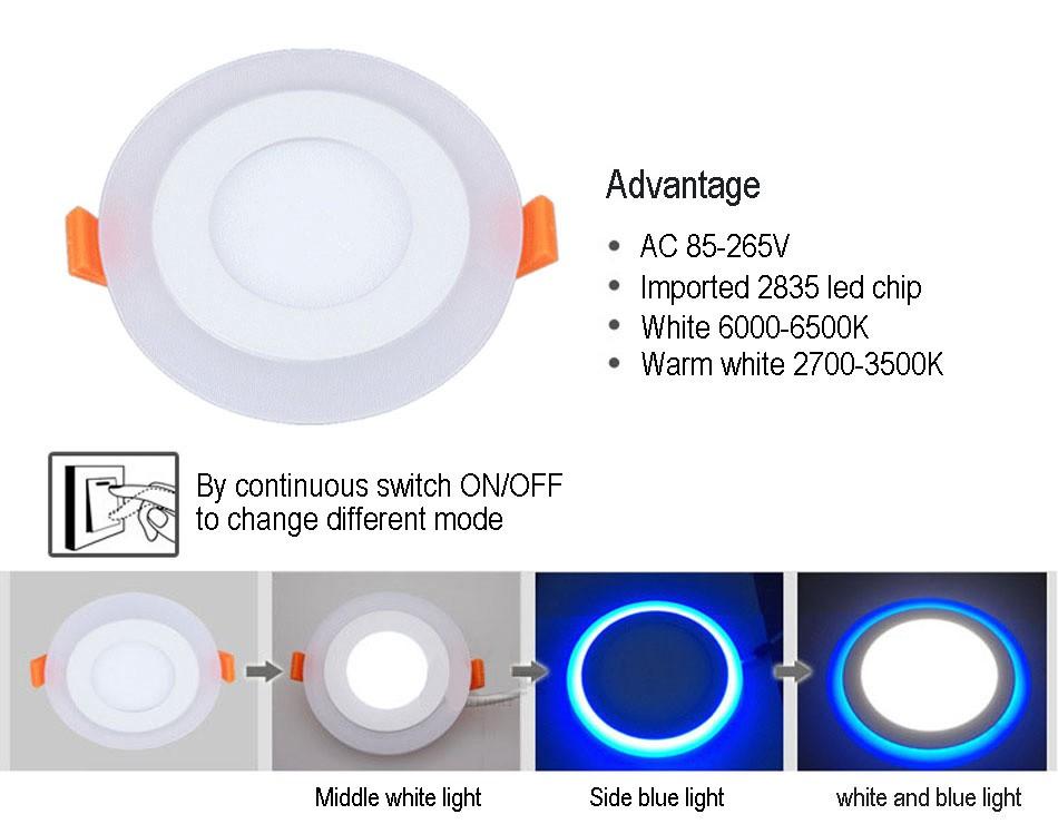 Double color led panel (30)