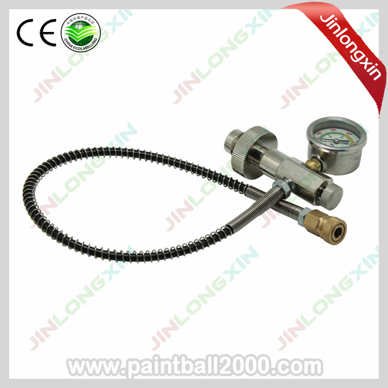 SPUNKY 20 Inch DIN Fit High Pressure Air Fill Station Refill Connector for High Pressure Big Gas Cylinder to Small Gas Cylinder-in Paintball Accessories from Sports & Entertainment    1