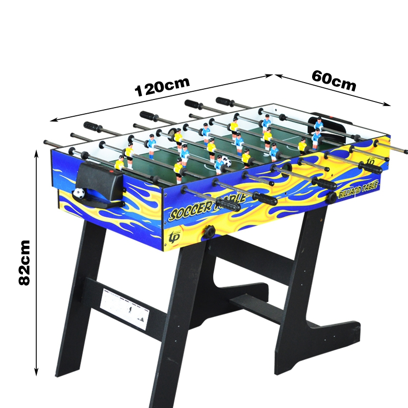 4ft Foldable 4 In 1 Multi Game Table Kids Play Indoor Table 4 Different Game  Pool Ball Soccer Table Tennis Air Hockey In Board Games From Sports ...