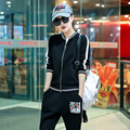 Casual Women Sweatshirt Slim Fit Sportswear Set Cotton Cute Pattern Tracksuit Brand Clothing Sets Plus Size #MX1676
