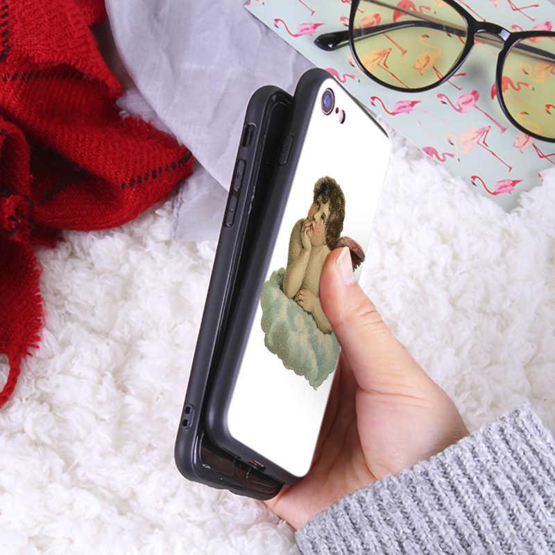 独占自家製電話ケース iphone7 8 プラスかわいいソフトシリコンカバー iPhone8 6 6 s プラス X XR XS 最大 TPU 電話ケース