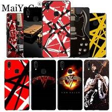 8b0228c9f04 MaiYaCa Eddie Van Halen Graphic Guitar black soft Phone Accessories Case  for vivo x20 plus x21ud