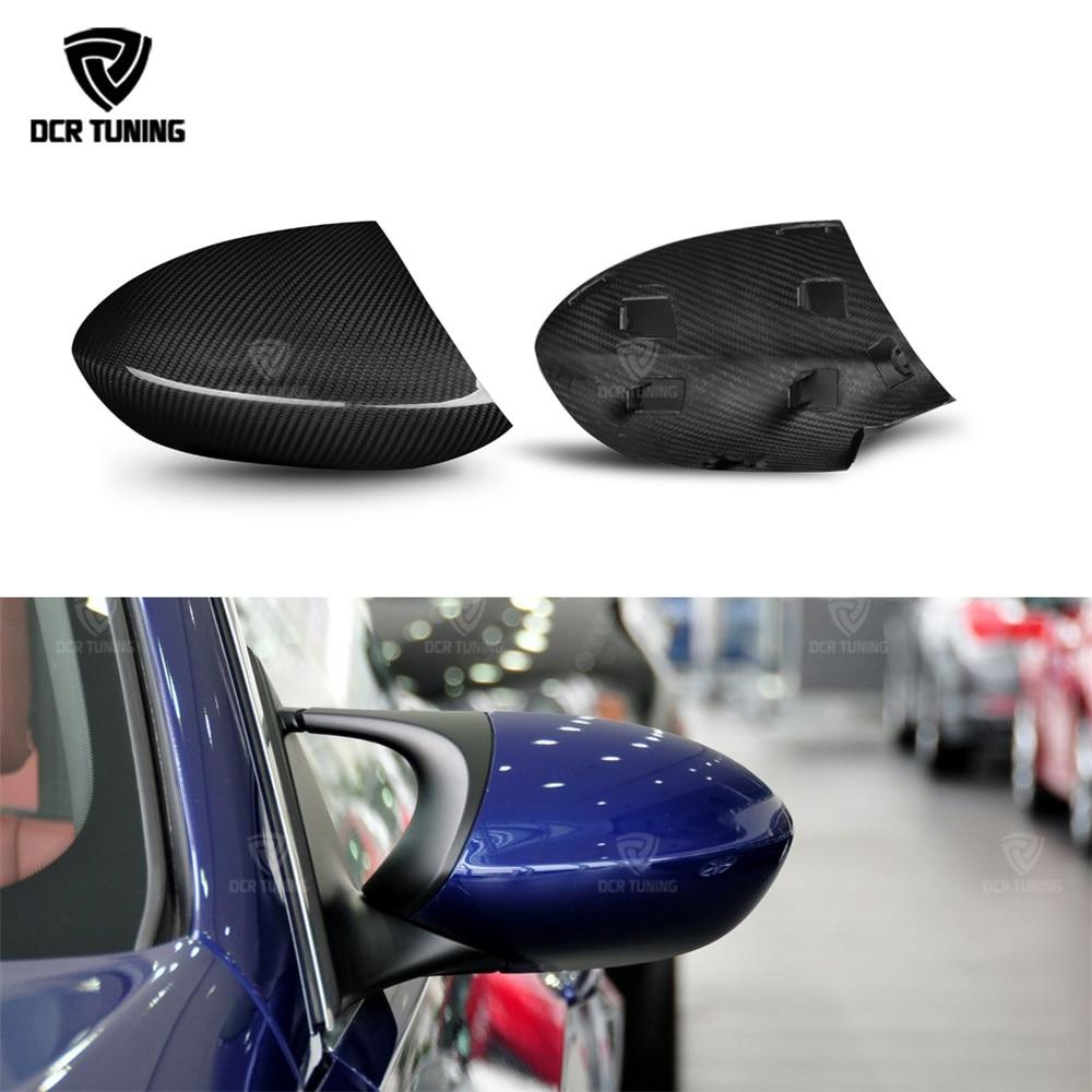 Dry Carbon Rear View Mirror Cover For BMW E90 E92 E93 M3 Dry Carbon side caps E82 1M 2008 2009 2010 2012 2013 стоимость