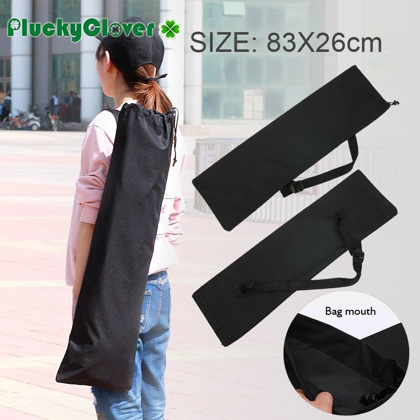 281f249054 1pc Black Penny Fish Skateboard Carrying Bag 82x26cm Small Skateboard  Longboard Shoulder Bag Banana Board Handy Handbag Backpack