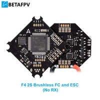 2 S F4 FC Borstelloze Flight Controller ESC OSD Smart Audio (Geen RX) met XT30 Kabel voor 2 S Borstelloze Whoop Drone Beta75X Beta65X