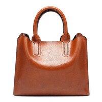 HJKL Kabelky Women Leather Shoulder Fashion High Quality PU Handbags Vintage High Capacity Bags sac a main Messenger Bag bolsos