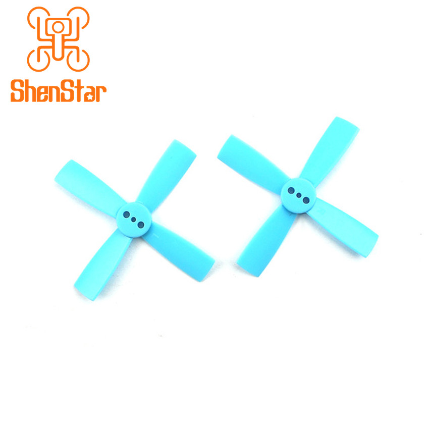 1pack of 10pairs ABS 4- <font><b>2035</b></font> 50mm CW CCW <font><b>Propellers</b></font> for Furious FPV Brushless Racing Drone 1102 1103 1104 Motor Accessory image