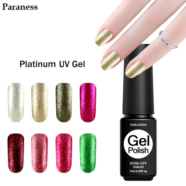 Paraness Wholesale Diamond Platinum Nail Gel Durable Removable ...