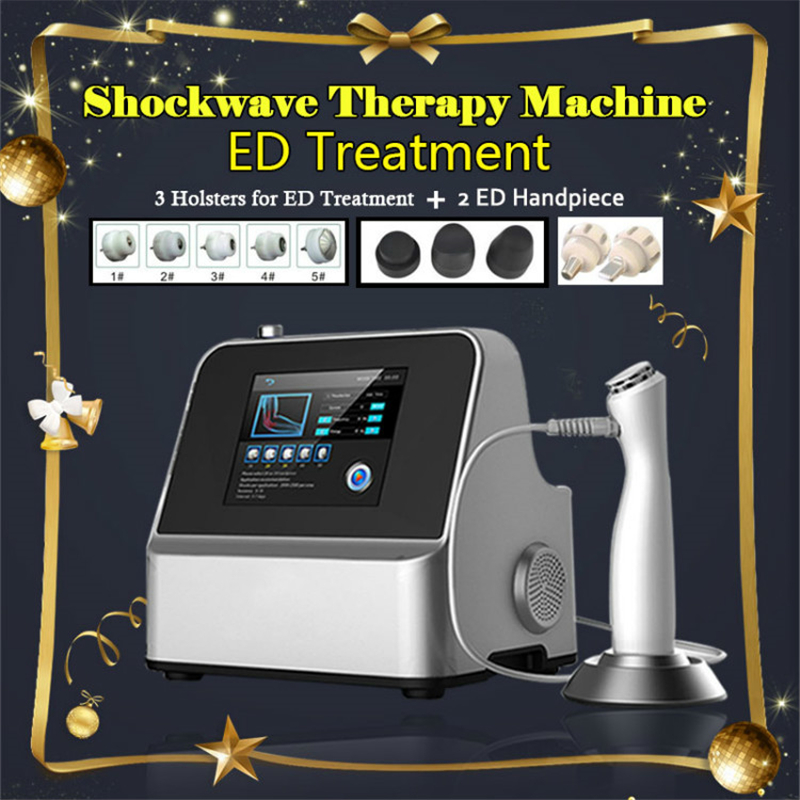 Germany Imported Compressor Shock Wave Machine Shockwave Therapy Machine ED Treatment Shock Wave Therapy Equipment