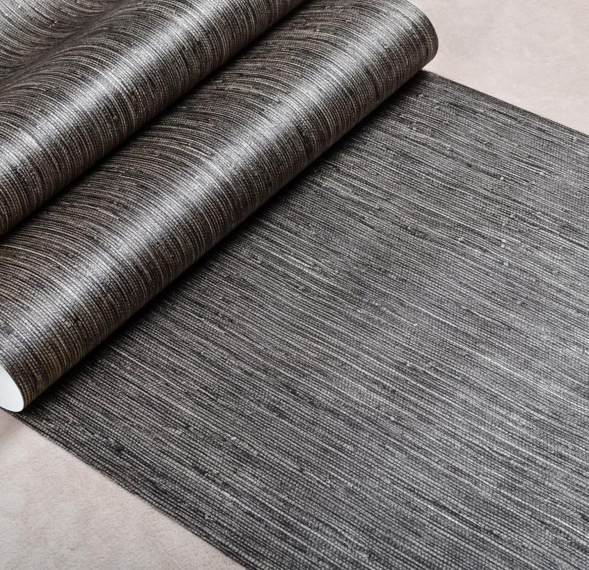 Aliexpress.com : Buy Metallic Vertical Faux Grasscloth Emboss ...