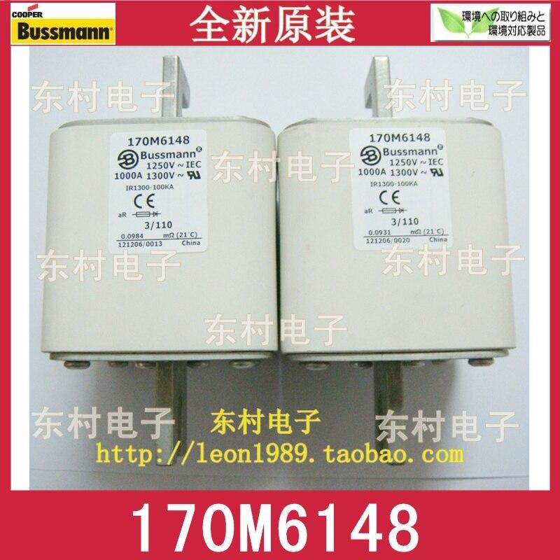 US COOPER BUSSMANN fuse 170M6148 1000A 1250V 1300V fuse us bussmann fuse tcf45 tcf40 tcf35 35a tcf30 600v fuse