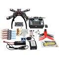 F14891-D 310mm Marco de Fibra de Carbono de BRICOLAJE GPS Drone FPV Kit Multicopter AT10 2.4G Transmisor Radioenlace APM2.8 1400KV Motor 30A ESC