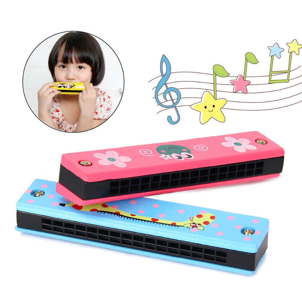 Musical Toy Kids Learning Study Musical Sound Harmonica Wind instruments Children Educational Playing Toys Christmas Gifts image